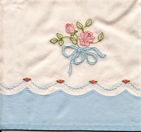 design for embroidery work machine shadow embroidered pillowcase janice ferguson sews