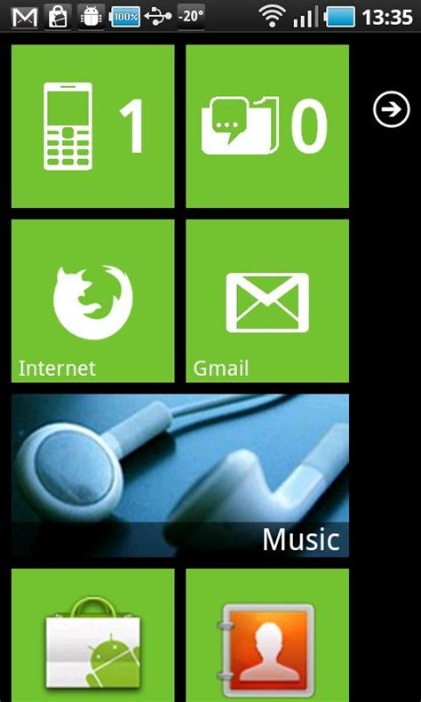how to edit on android phone change your android phone into windows 7 phone using launcher 7 techtin