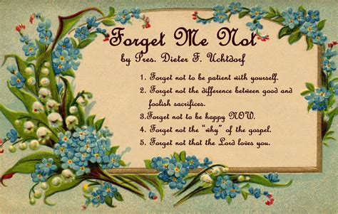not day forget me not flowers quotes quotesgram