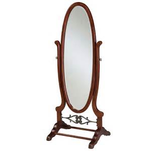 powell heirloom cherry cheval mirror beyond stores