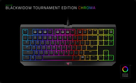 Razer Blackwidow Tournament V2 Chroma Orange Switch razer blackwidow tournament edition chroma v2 orange