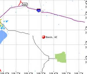 bowie map bowie arizona az 85632 profile population maps real