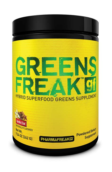supplement greens greens freak by pharmafreak at bodybuilding best