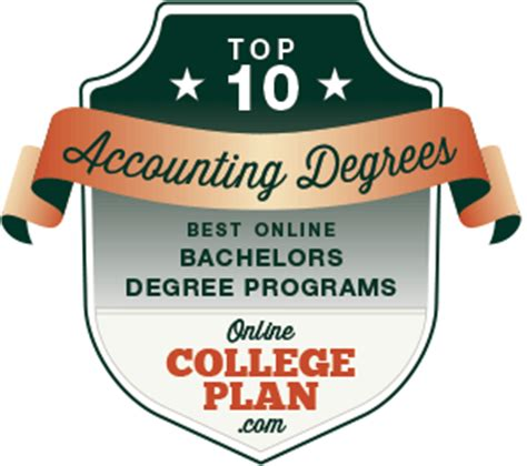 best bachelors degree 10 best bachelors degrees in accounting