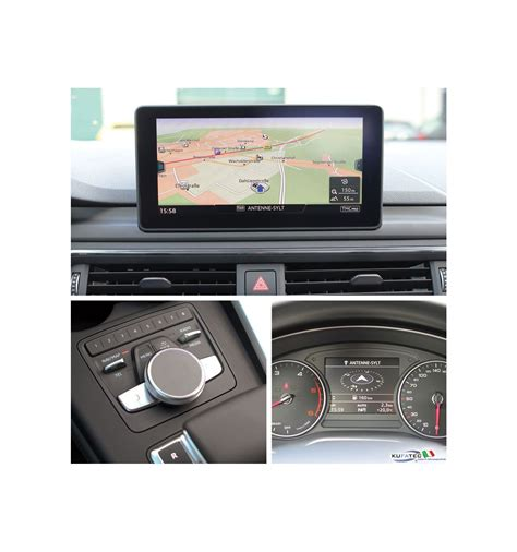 Audi A4 Mmi Navigation Plus by Retrofit Kit Mmi Navigation Plus With Mmi Touch Audi A4 8w