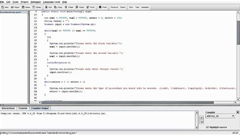 tutorial java try catch java programming beginners tutorial 10 error handling