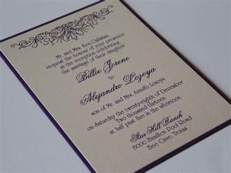 Layered Wedding Invitations by Stunning Layered Wedding Invitations Theruntime