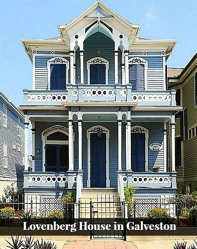 homes in galveston tx for sale the italianate style lovenberg house in galveston hooked on houses