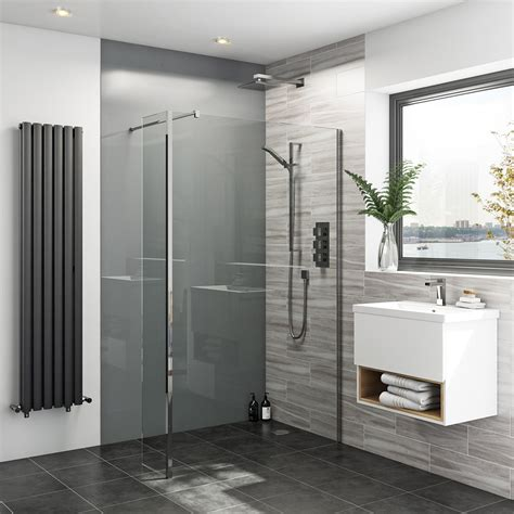 Zenolite Plus Ash Acrylic Shower Wall Panel 2070 X 1000 Bathroom Wall Panels
