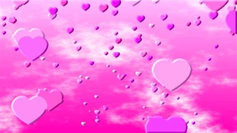 wallpaper bergerak love pink pink love hearts white background stock footage video