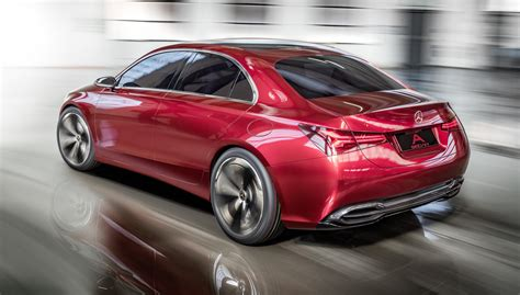 Mercedes A Class Sedan 2018 Mercedes A Class Sedan Concept Revealed Photos