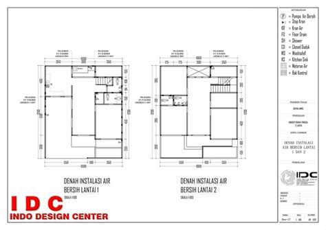 pengertian layout halaman gambar kerja rumah minimalis 2 lantai lengkap halaman 20