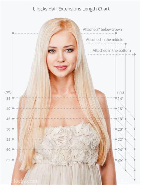 hair extensions for women in their 50 best 25 hair length chart ideas on pinterest