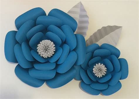 Large Paper Flowers - large paper flowers backdrop flower wall photo
