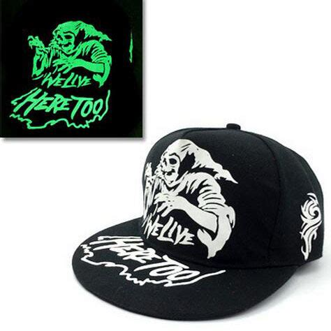 Topi Snapback La 1 Topi Baseball Snapback Glow In The Luminous Witch