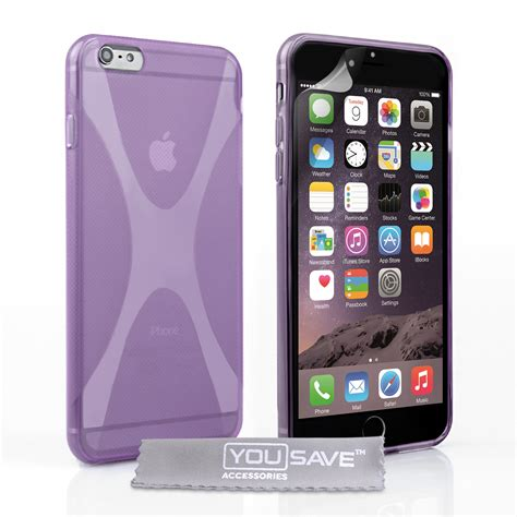 Iphone 6 X by Iphone 6 Plus And 6s Plus Silicone Gel X Line Purple