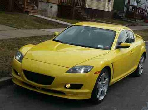 automobile air conditioning repair 2009 mazda rx 8 auto manual sell used yellow mazda rx8 in utica new york united states