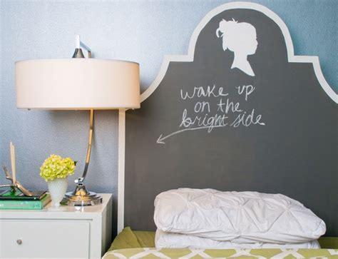 Diy Chalkboard Headboard by 25 Gorgeous Diy Headboard Projects