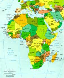 click on the map and explore africa