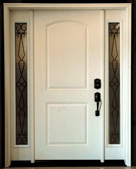 custom fiberglass entry door picture