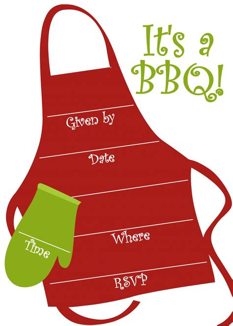 free bbq party invitations templates party invitation
