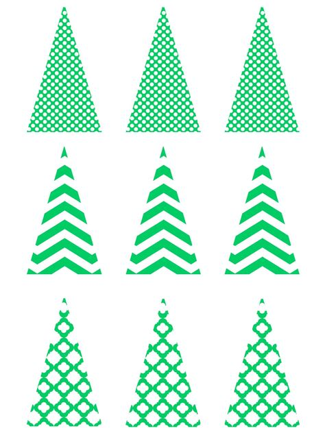Free Christmas Templates Printable Gift Tags Cards Crafts More Hgtv Tree Template For Cards