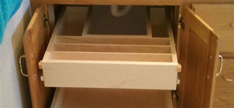 sink roll out storage bathroom cabinet roll out shelves maximize your storage