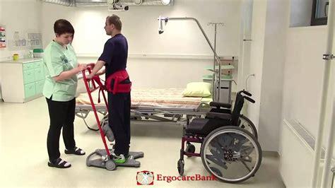 lit verticalisateur 14 du lit au fauteuil de transfert 224 l aide d un