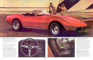 free car manuals to download 1973 chevrolet corvette spare parts catalogs 1973 chevrolet brochure