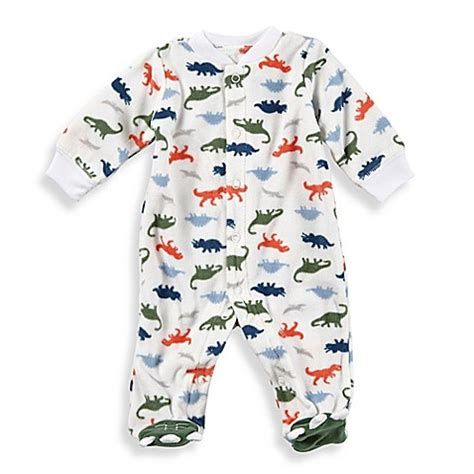 Kaos Carters Size 9 M buy s 174 size 9m dino snap up sleep play footie in white from bed bath beyond
