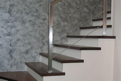 corrimano acciaio satinato parapetto per scala in acciaio inox satinato fferrarini rsm