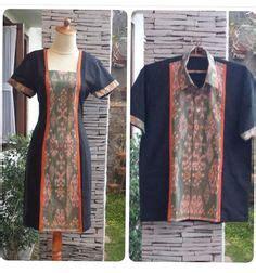 Preloved Stelan Baju Kurung Brukat dress ulos batak bahan ulos kombinasi tenun bima