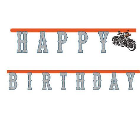 Motorrad Deko by Deko Motorrad Geburtstag