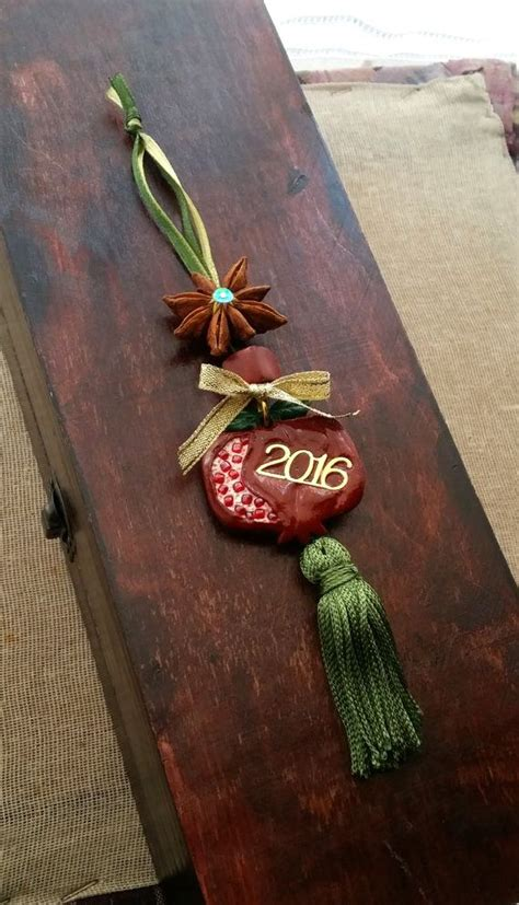 lucky colors christmas decor pomegranate luck charm home decor 2016 wall decoration hanging ornament