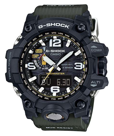 Casio G Shock Gwg 1000 1a3 Green Intl gwg 1000 1a3 mudmaster g shock timepieces casio
