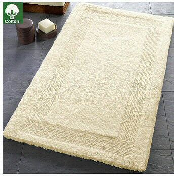 What Is The Best Bath Mat by Arizona Reversible Luzury Cotton Bath Rugs From Vita