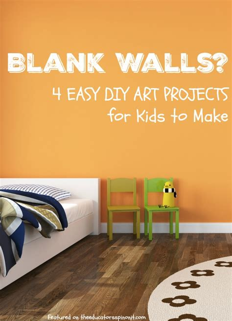 spinning l that projects pictures on the walls diy wall art for kids inspired by books