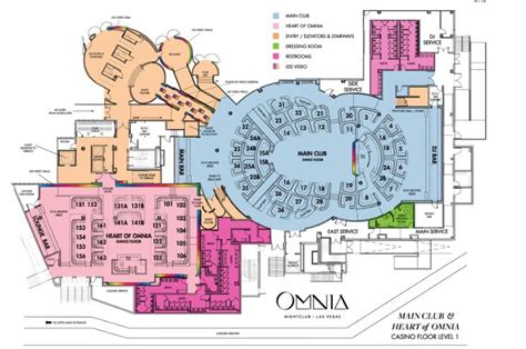 nightclub floor plans omnia nightclub table service pricing reservations