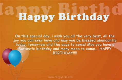 Happy Birthday Quotes For Best Wishing You A Happy Birthday Quotes Quotesgram