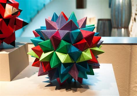Origami Show - origami exhibition at bellevue arts museum make
