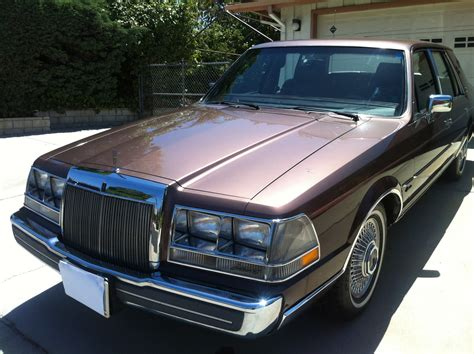 1987 lincoln continental 1987 lincoln continental exterior pictures cargurus
