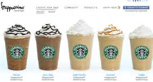 starbucks frappuccino sizes and prices images