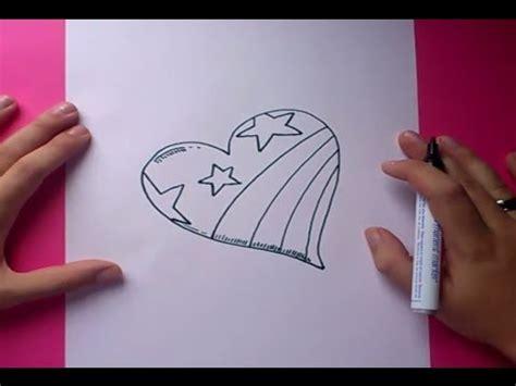 imagenes de un corazones como dibujar un corazon paso a paso 3 how to draw a