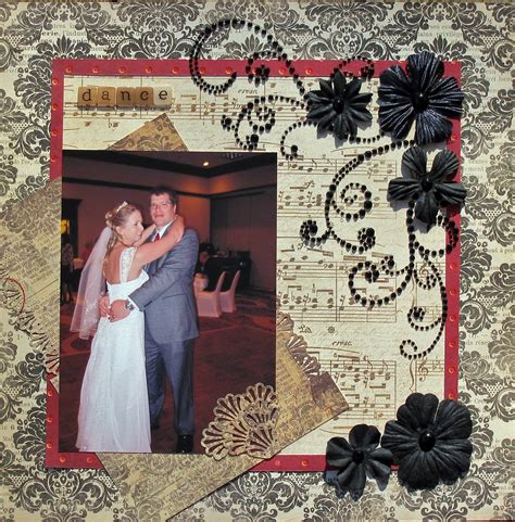 Scrapbook Theme Book Of Firsts by Scrapbook Scrapbooking Wedding Layouts