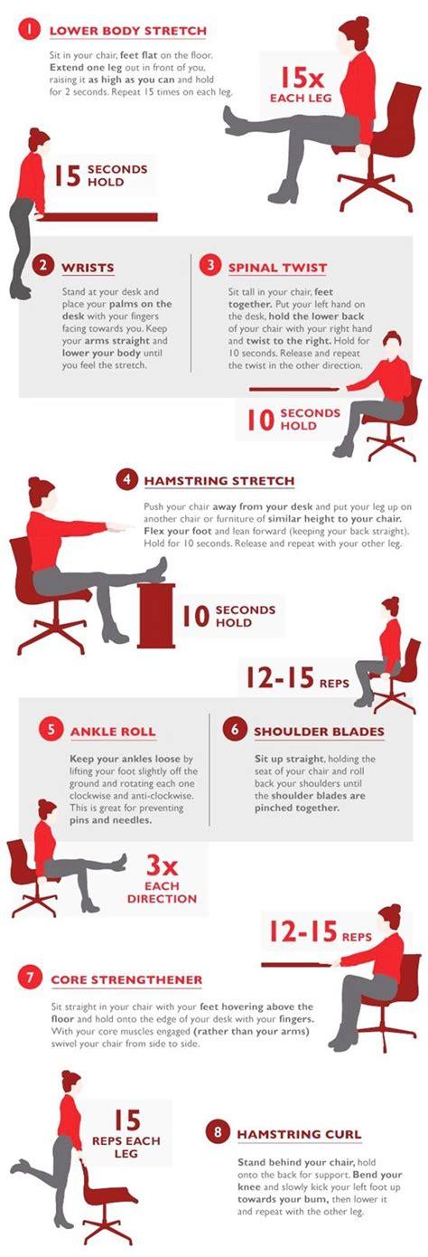 Office Desk Workouts Best 25 Office Workouts Ideas On Pinterest