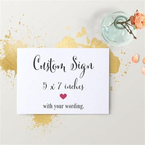 buffet sign wording custom wedding sign custom table signage welcome photo booth buffet dessert bar