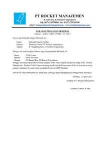 contoh surat pernyataan perusahaan untuk