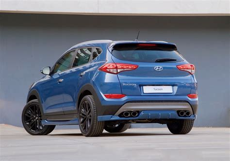 Hyundai Tucson Hp by Hyundai Tucson Sport Has Kit Pipes And 204 Hp 1