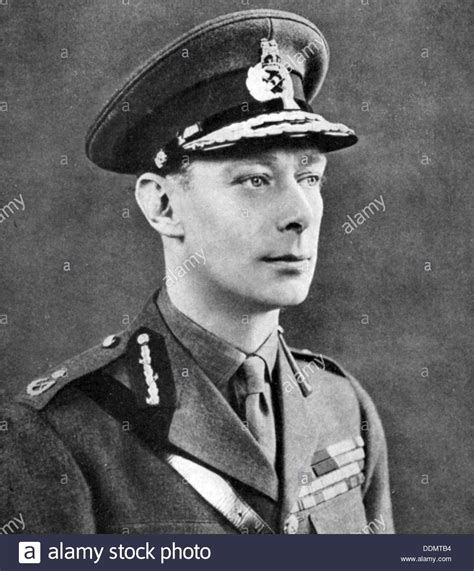 king george vi king george vi 1895 1952 king of great britain stock
