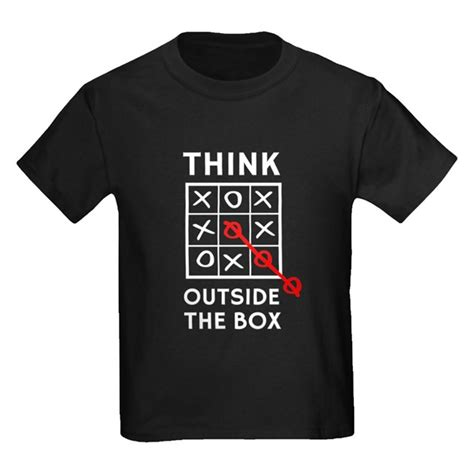 tshirt the think out box think outside the box t shirt think outside the